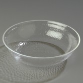 Carlisle SB7007 Pebbled Bowl 2 qt - Clear
