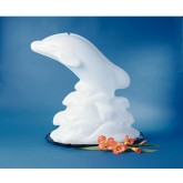 Carlisle SDO102 Ice Sculptures Dolphin - White