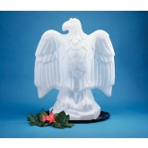 Carlisle SEA102 Ice Sculptures Eagle - White