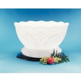 Carlisle SGR102 Ice Sculptures Grecian Bowl - White